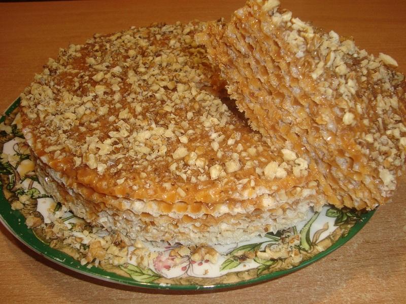 рецепты тортов со сгущёнкой фото