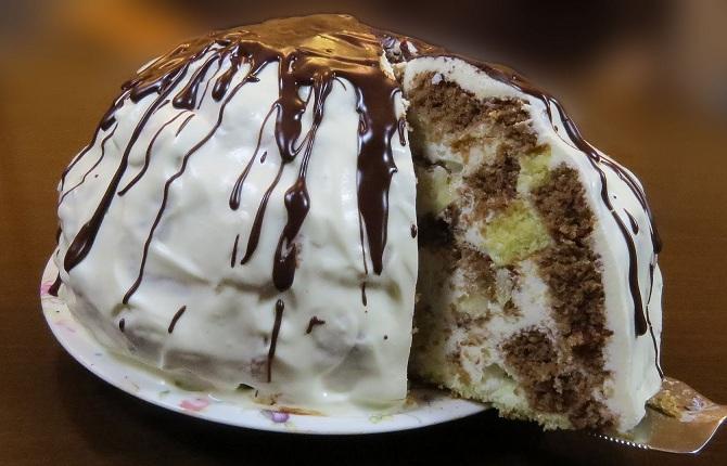 торт пинчер с вишней рецепт с фото как магазин