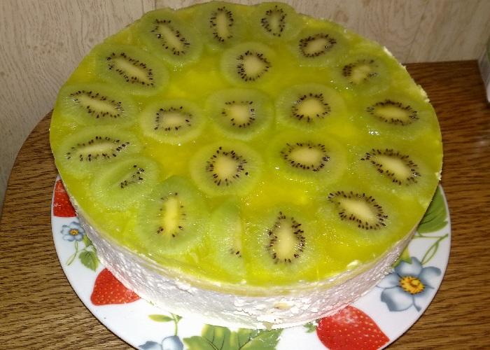 торты с киви рецепты с фото