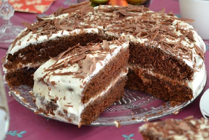 Шоколадный крем для торта: пошаговый рецепт, быстро и просто от ... | 450x670